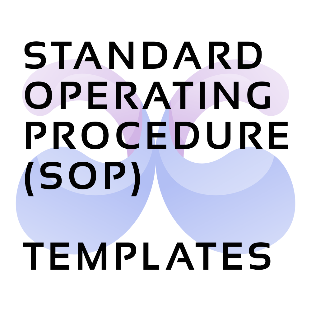 Standard Operating Procedure (SOP) Templates